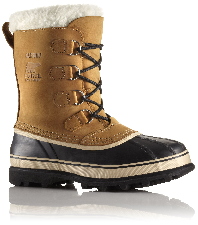 2b1ddcb7014f7 Botas de invierno Sorel Caribou beige para hombre